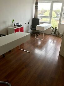 Office to rent with two desks kitchen and bathroom on Caledonian Road N1