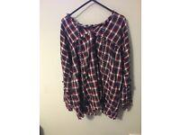 Zara checkered shirt for sale
