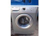 Silver Beko 7kg washing machine