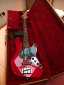 Fender Mexican 5 String Active Jazz Bass