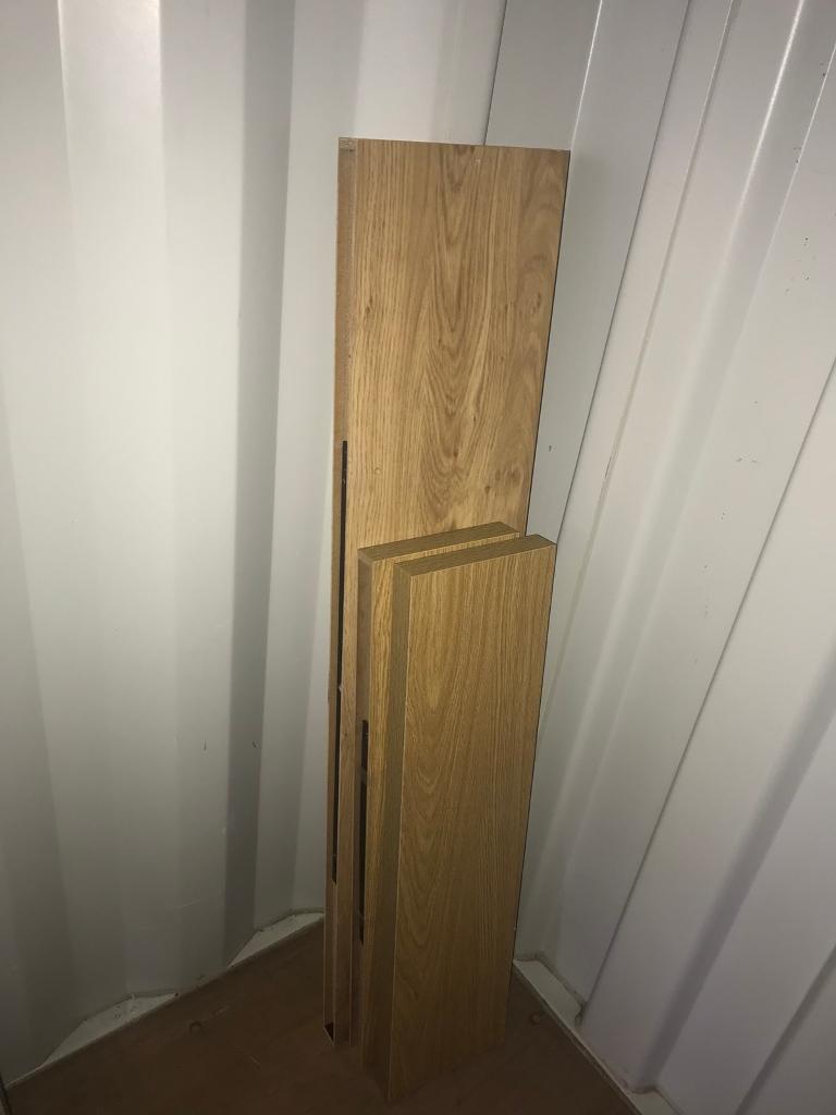 Sold - Wooden floating shelves x 3