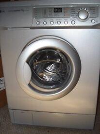 LG IntelloWasher WM-1175FHB Washing Machine 7Kg capacity Silver colour