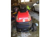 Ride on mower, 1 year old, excellent condition.
