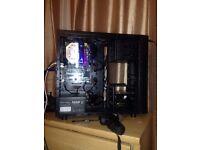 Fast Mid Gaming PC Desktop - i3-6320 3.90GHz - 8GB DDR3 - 2 x 120 GB SSD - 500GB HDD -Custom Cooling