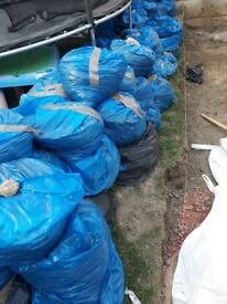 FREE Quality Top Soil over a tone available and all in bags.