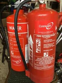 2 x 9litres Water Fire Extinguishers