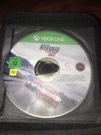 Xbox one games with a case