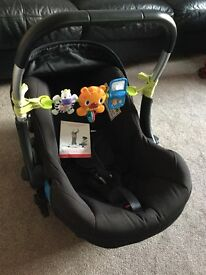 Silver cross car seat and rain cover