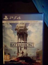Ps4 Star Wars - Battlefront - The Battle of Jakku