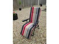 reclining garden/patio relaxing chair