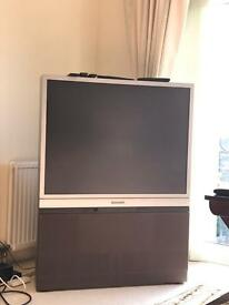 Panasonic Retro Back projection TV