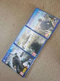 3 ps4 games watch dogs call of duty