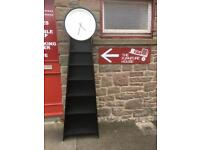 Grandfather clock / bookshelves * free furniture delivery *