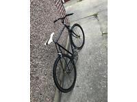 """BSA Single gear road bike - 22"""" framesize"""
