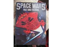 Space Wars - Fact and Fiction - hardback book