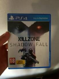 Ps4 killzone shadowfall like new