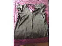 Silky black size 16 top