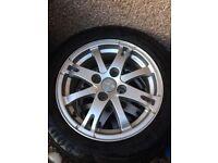 Peugeot/Citroen Alloy Winter Wheels