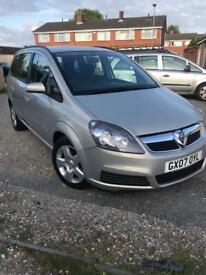 Vauxhall Zafira #7 Seater# 1.8 Petrol Automatic 68k #brand new mot#