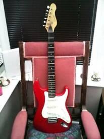 JOHN HORNY SKEWES ENCORE ELECTRIC GUITAR CIRCA 1980 MADE IN KOREA