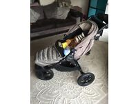 Baby Jogger Elite with footmuff