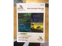 RHA 2013 Haulage Manual