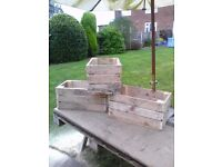 STRONG WOODEN CRATES