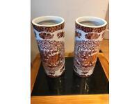 Pair of Antique Ceramic Vases