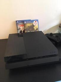 Sell PS4 with 3 games 140