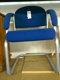 Blue office chair #30514 £10