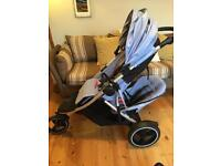 Phil and Teds Dash Double buggy - V5 2016 with doubles kit. Very good condition