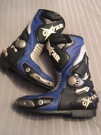 Oxtar motorcycle boots