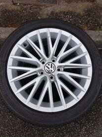 Volkswagen Shanghai alloy wheel, 17