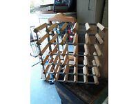 Wine Rack - Wooden Storage