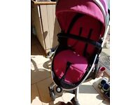 Silver cross surf pushchair with lots of extras