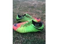 Nike hypervenom top of the range football size 8
