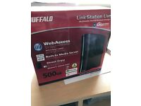 Buffalo LinkStation Live 500GB NAS hard drive