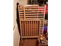 Free cot and car seat