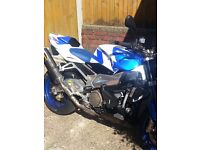 aprilla tuono 2007.11 months mot .akrapovic cans. adjustable levers.
