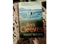 Ann cleeves white night paperback book