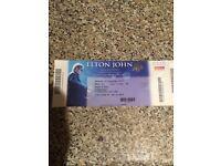 Elton John Tickets X 2 in Newcastle 3rd December