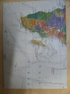 National Geographic World Decorator Wall Map  by