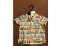 Boys shirt from next bnwt 0-3 months