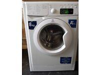 Indesit 8kg digital display washing machine