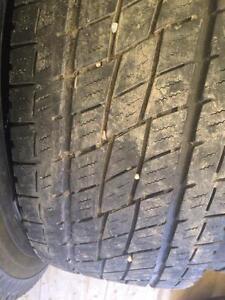 4 pneus lt 275/65r18 toyo 10 plies