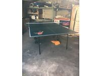 Table tennis table (and set of rackets/balls if needed)