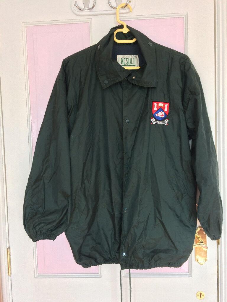 New - Albyn School rain coat for an upper school pupil