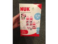 Nuk Minnie Mouse Gift Set Brand New Still Sealed!