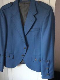 Men's Kilt jacket 42chest in Blue Ex condition