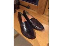 Next Burgundy Loafers - Brand New, UK 7/8